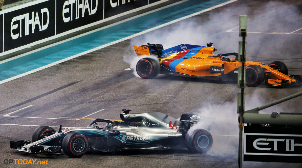 Alonso thankful to Hamilton and Vettel for 'improvised' send-off