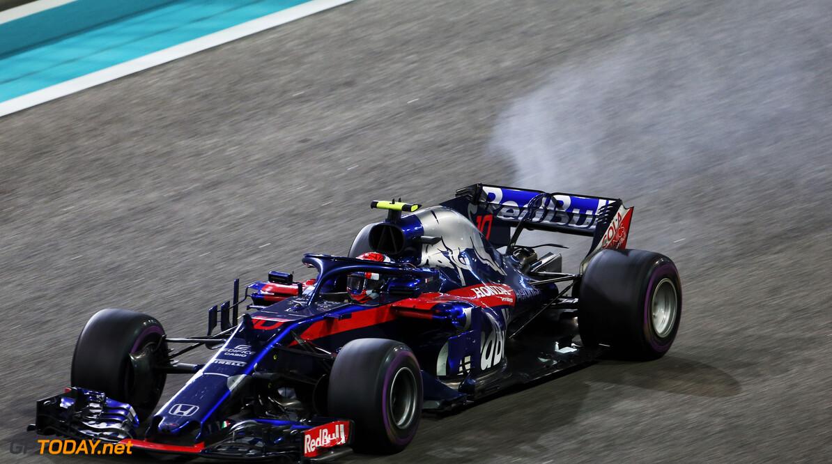 Toro Rosso negeerde in Abu Dhabi orders van de wedstrijdleiding