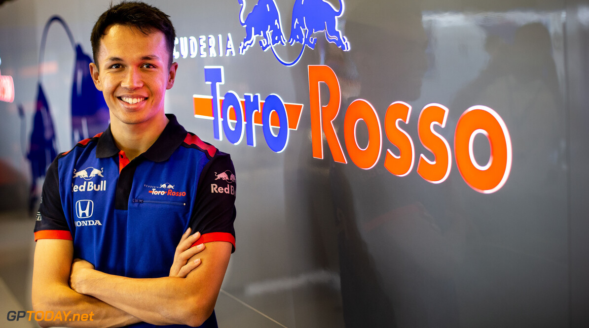 Albon not setting targets ahead of F1 debut