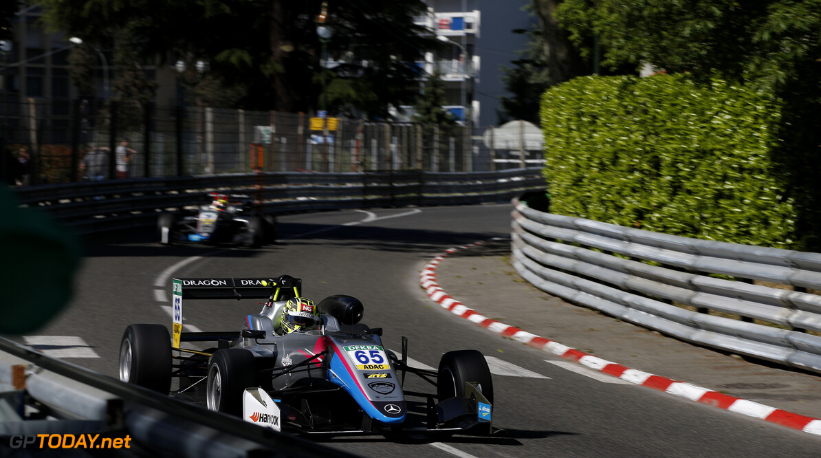 FIA Formula 3 European Championship, round 1, PAU (FRA) 65 Enaam Ahmed (GBR, Hitech Grand Priv, Dallara F317 - Mercedes-Benz), FIA Formula 3 European Championship, round 1, Pau (FRA), 11. - 13. May 2018 *** Local Caption *** Copyright (c) FIA Formula 3 European Championship / Thomas Suer FIA Formula 3 European Championship 2018, round 1, Pau (FRA) Thomas Suer Pau France