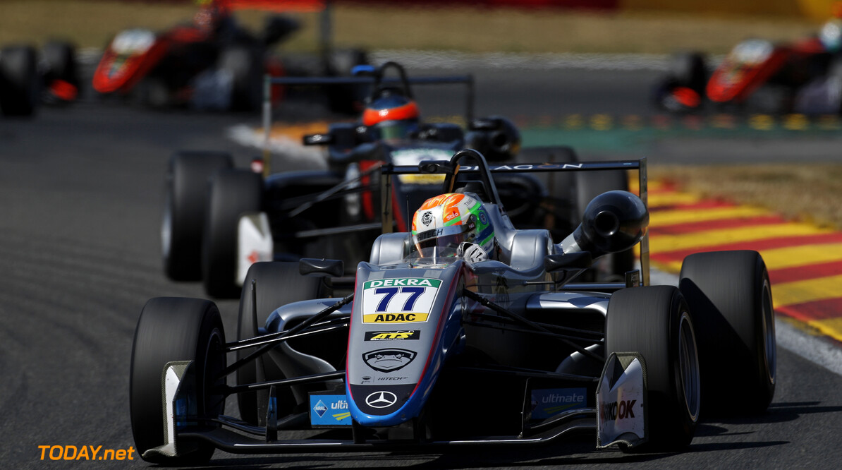 FIA Formula 3 European Championship, round 5, rrace 2, Spa-Francorchamps (BEL) 77 Ben Hingeley (GBR, Hitech Bullfrog GP, Dallara F317 - Mercedes-Benz), FIA Formula 3 European Championship, round 5, rrace 2, Spa-Francorchamps (BEL), 26. - 28. July 2018 *** Local Caption *** Copyright (c) FIA Formula 3 European Championship / Thomas Suer FIA Formula 3 European Championship 2018, round 5, rrace 2, Spa-Francorchamps (BEL) Thomas Suer Zandvoort Belgium