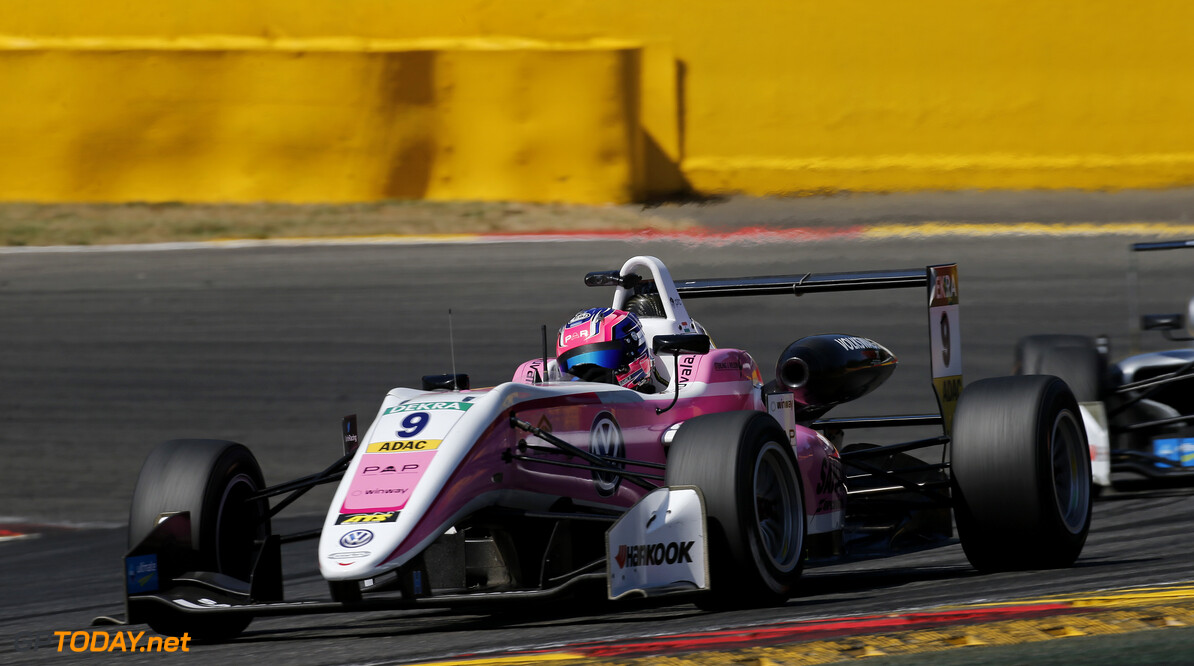 FIA Formula 3 European Championship, round 5, race 1, Spa-Francorchamps (BEL) 9 Jehan Daruvala (IND, Carlin, Dallara F317 - Volkswagen), FIA Formula 3 European Championship, round 5, race 1, Spa-Francorchamps (BEL), 26. - 28. July 2018 *** Local Caption *** Copyright (c) FIA Formula 3 European Championship / Thomas Suer FIA Formula 3 European Championship 2018, round 5, race 1, Spa-Francorchamps (BEL) Thomas Suer Zandvoort Belgium