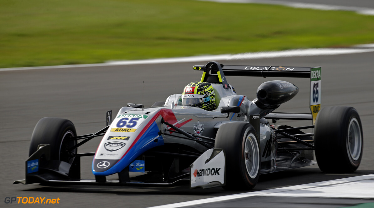 FIA Formula 3 European Championship, round 6, Silverstone (GBR) 65 Enaam Ahmed (GBR, Hitech Bullfrog GP, Dallara F317 - Mercedes-Benz), FIA Formula 3 European Championship, round 6, Silverstone (GBR), 17. - 19. August 2018 *** Local Caption *** Copyright (c) FIA Formula 3 European Championship / Thomas Suer FIA Formula 3 European Championship 2018, round 6, Silverstone (GBR) Thomas Suer Silverstone Great Britain