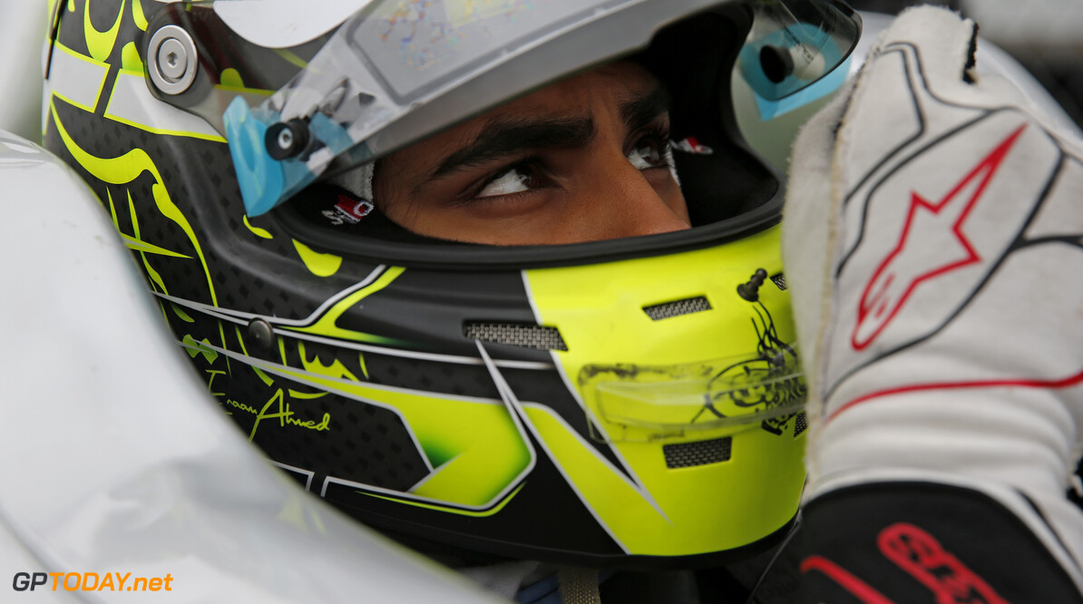 FIA Formula 3 European Championship, round 6, race 2, Silverstone (GBR) 65 Enaam Ahmed (GBR, Hitech Bullfrog GP, Dallara F317 - Mercedes-Benz), FIA Formula 3 European Championship, round 6, race 2, Silverstone (GBR), 17. - 19. August 2018 *** Local Caption *** Copyright (c) FIA Formula 3 European Championship / Thomas Suer FIA Formula 3 European Championship 2018, round 6, race 2, Silverstone (GBR) Thomas Suer Silverstone Great Britain