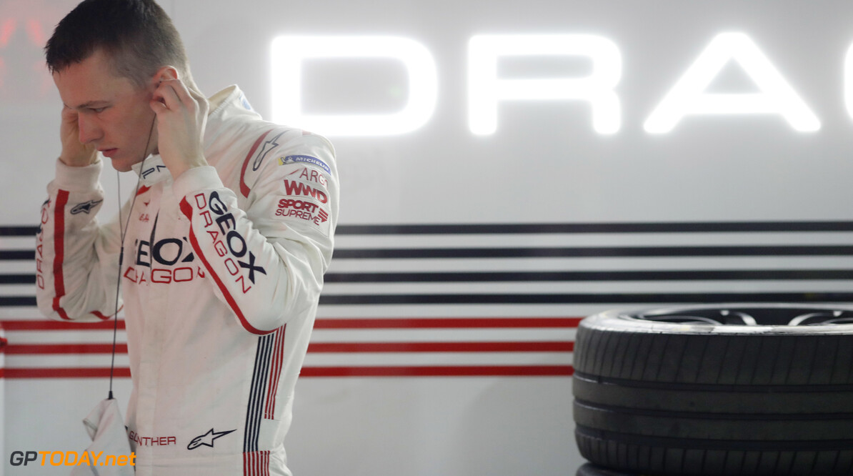 2018 Marrakesh E-prix CIRCUIT INTERNATIONAL AUTOMOBILE MOULAY EL HASSAN, MOROCCO - JANUARY 12: Maximilian G?nther (DEU), Dragon Racing, prepares in the garage during the Marrakesh E-prix at Circuit International Automobile Moulay El Hassan on January 12, 2019 in Circuit International Automobile Moulay El Hassan, Morocco. (Photo by Alastair Staley / LAT Images) 2018 Marrakesh E-prix Alastair Staley  Morocco  portrait ts-live electric fe