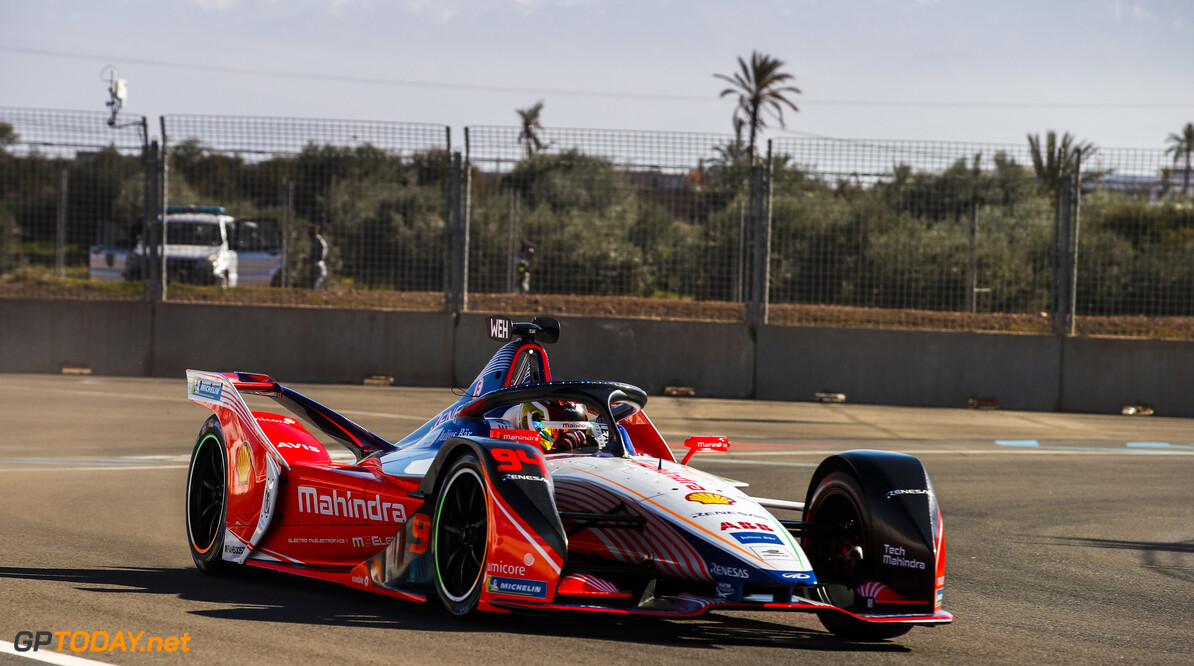 2018 Marrakesh E-prix CIRCUIT INTERNATIONAL AUTOMOBILE MOULAY EL HASSAN, MOROCCO - JANUARY 11: Pascal Wehrlein (DEU), Mahindra Racing, M5 Electro during the Marrakesh E-prix at Circuit International Automobile Moulay El Hassan on January 11, 2019 in Circuit International Automobile Moulay El Hassan, Morocco. (Photo by Joe Portlock / LAT Images) 2018 Marrakesh E-prix Joe Portlock  Morocco  action electric fe