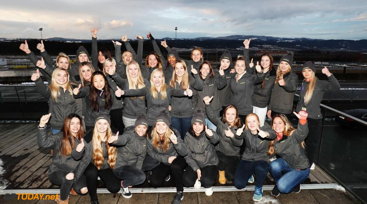 Visser enige Nederlandse dame in eerste seizoen W Series