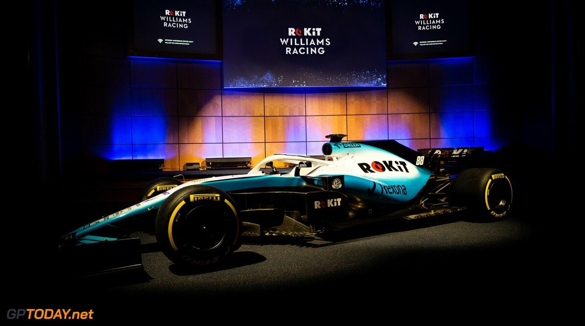 Williams reveals new livery for 2019 season