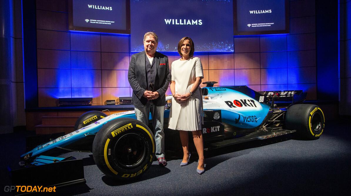 Williams 'deelt veel waarden en aspiraties' met nieuwe titelsponsor ROKiT