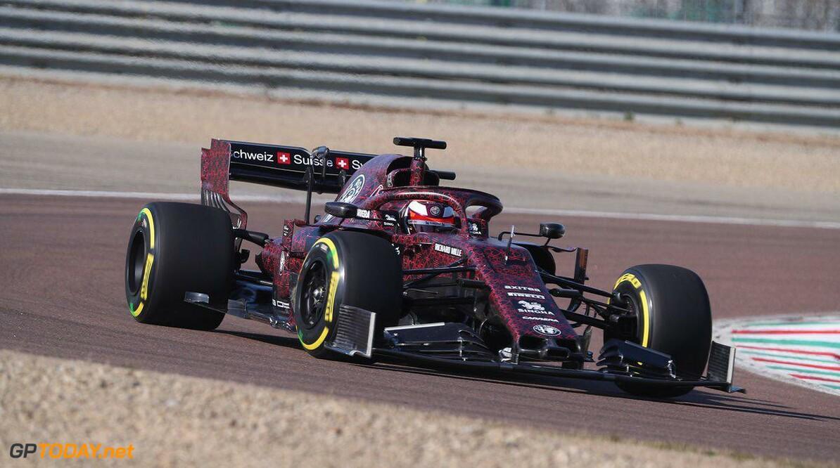 Eerste foto's van nieuwe Alfa Romeo Racing op Fiorano
