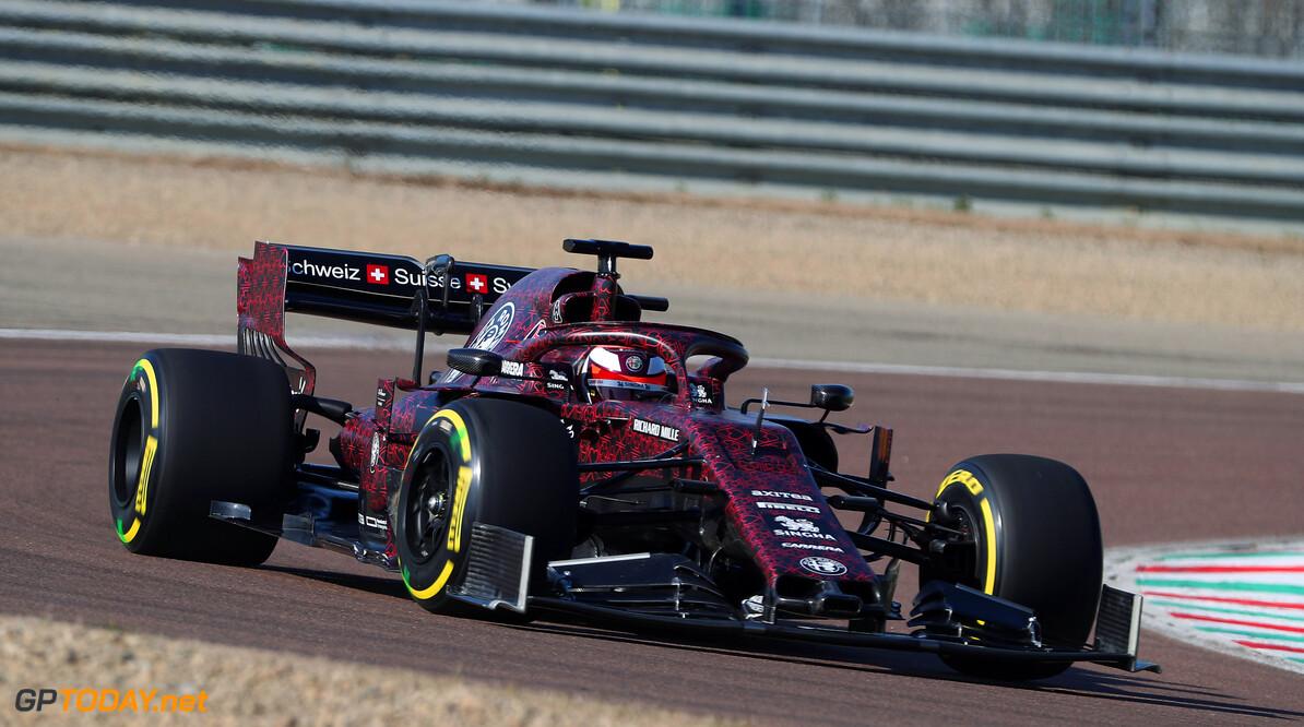 <b>Video: </b>Kimi Raikkonen debuteert nieuwe Alfa Romeo op Fiorano