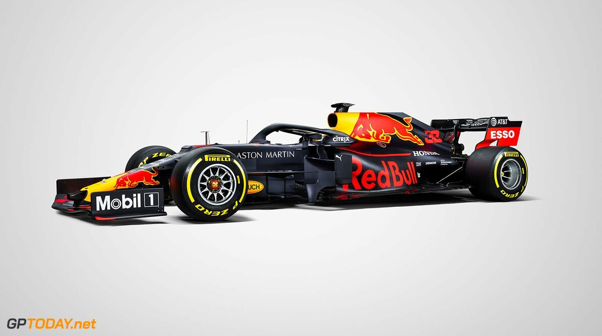Red Bull reveals traditional 2019 livery