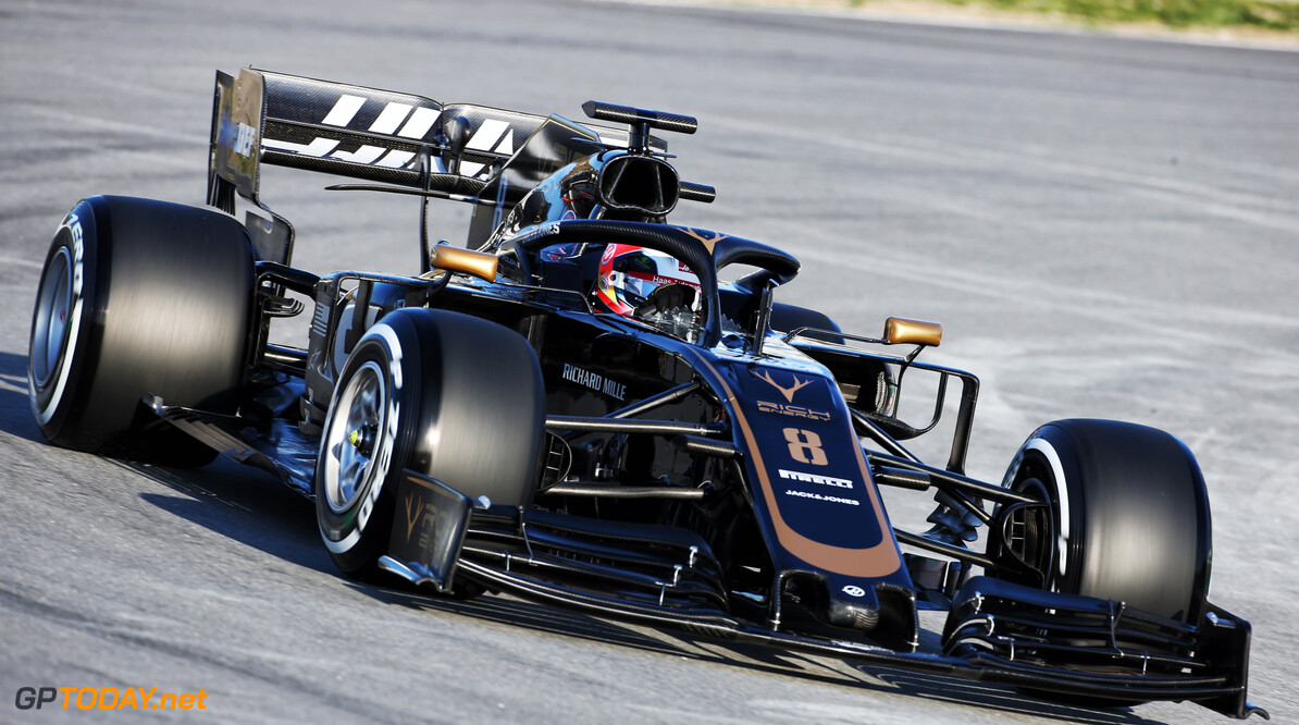 Fuel issues hampers Haas on the opening day of testing