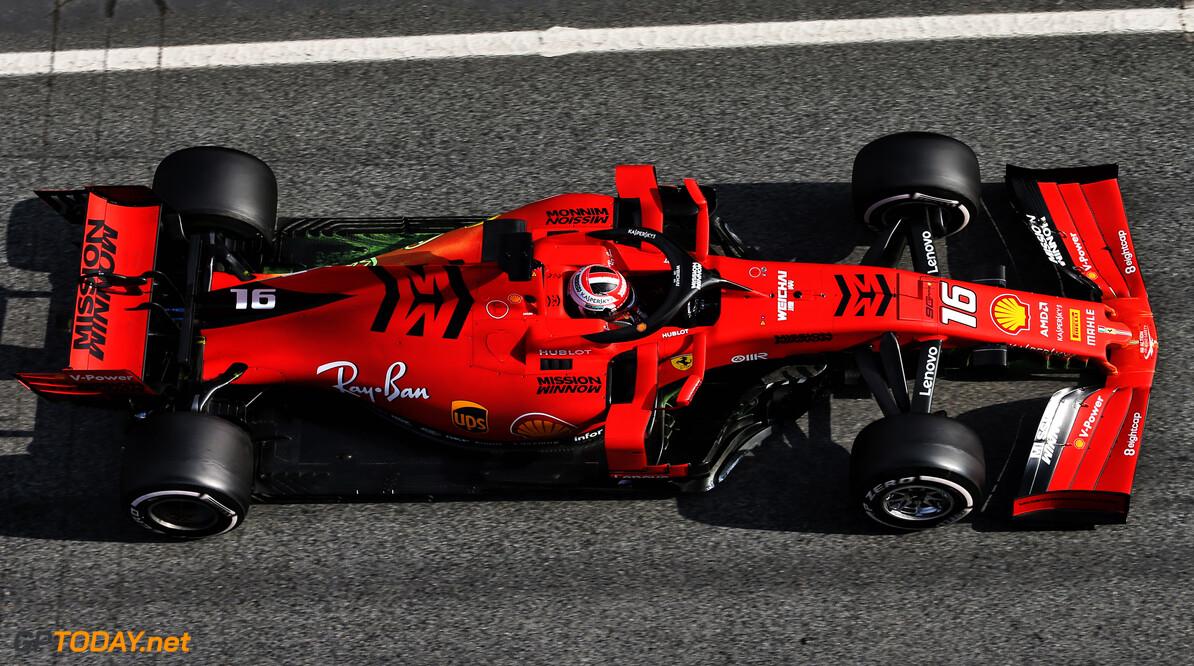 <b>Testdag 2</b>: Tijd Leclerc uit ochtend blijft staan, Gasly crasht