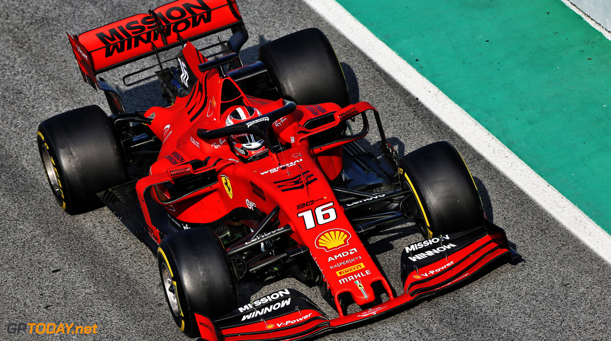 Leclerc 'put emotion to one side' in first 2019 Ferrari test