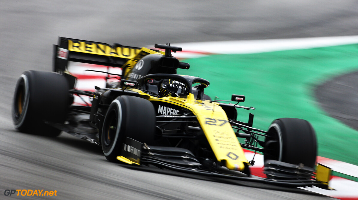 Hulkenberg tops final day of test one