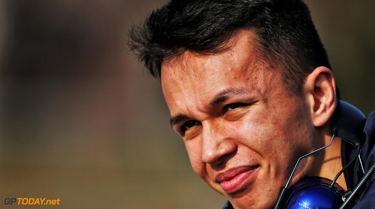 Toro Rosso praises 'fantastic' Albon after first test week