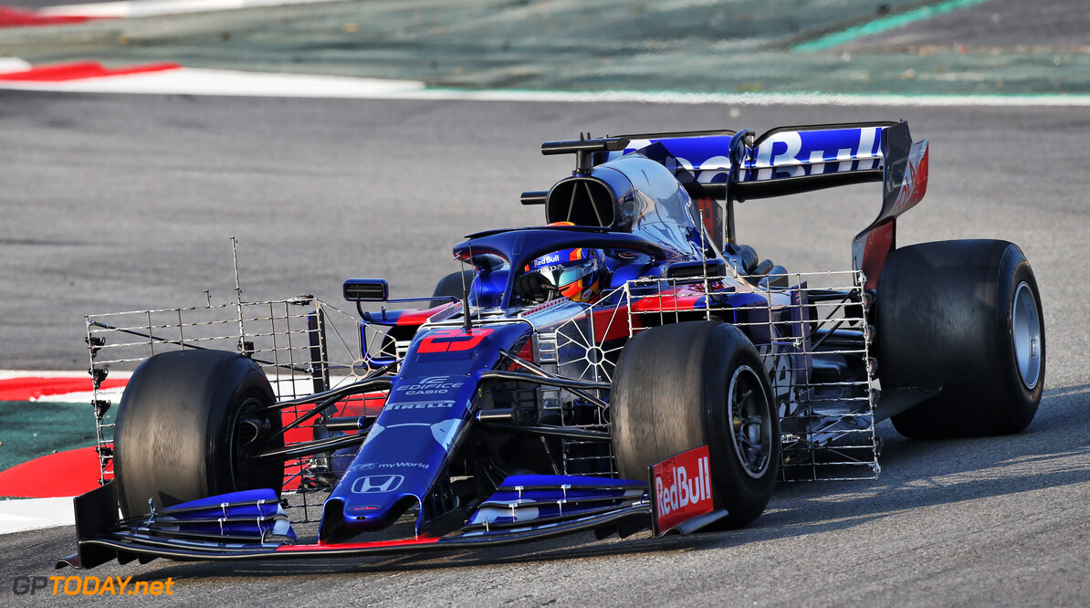 Albon tops final morning session from test one