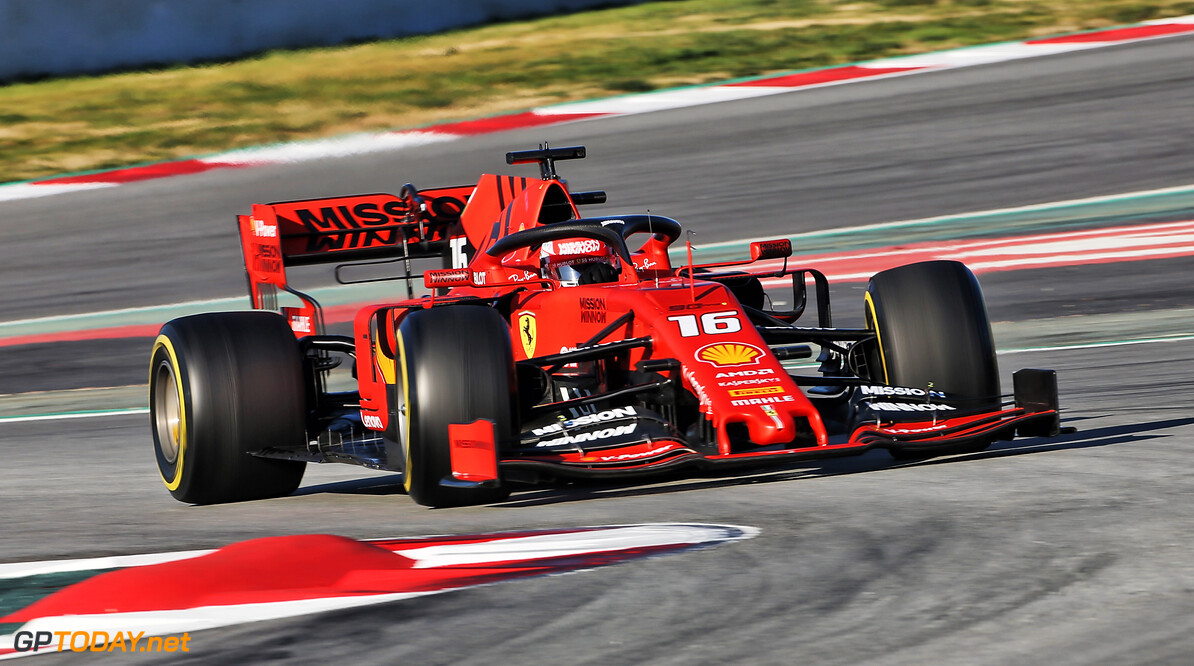 Leclerc ends day seven of testing on top