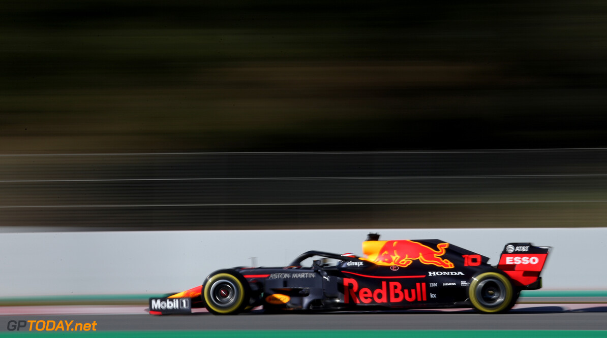 Formula One Testing Pierre Gasly (FRA), Red Bull Racing  26.02.2019. Formula One Testing, Day One, Barcelona, Spain. Tuesday. - www.xpbimages.com, EMail: requests@xpbimages.com - copy of publication required for printed pictures. Every used picture is fee-liable. (C) Copyright: Charniaux / XPB Images Motor Racing - Formula One Testing - Test Two - Day 1 -  Barcelona, Spain XPB Images Barcelona Spain  Formel1 Formel Testing Test F1 Formula 1 Formula1 one February Spain Barcelona Catalunya Tuesday 26 02 2 2019 Action Track