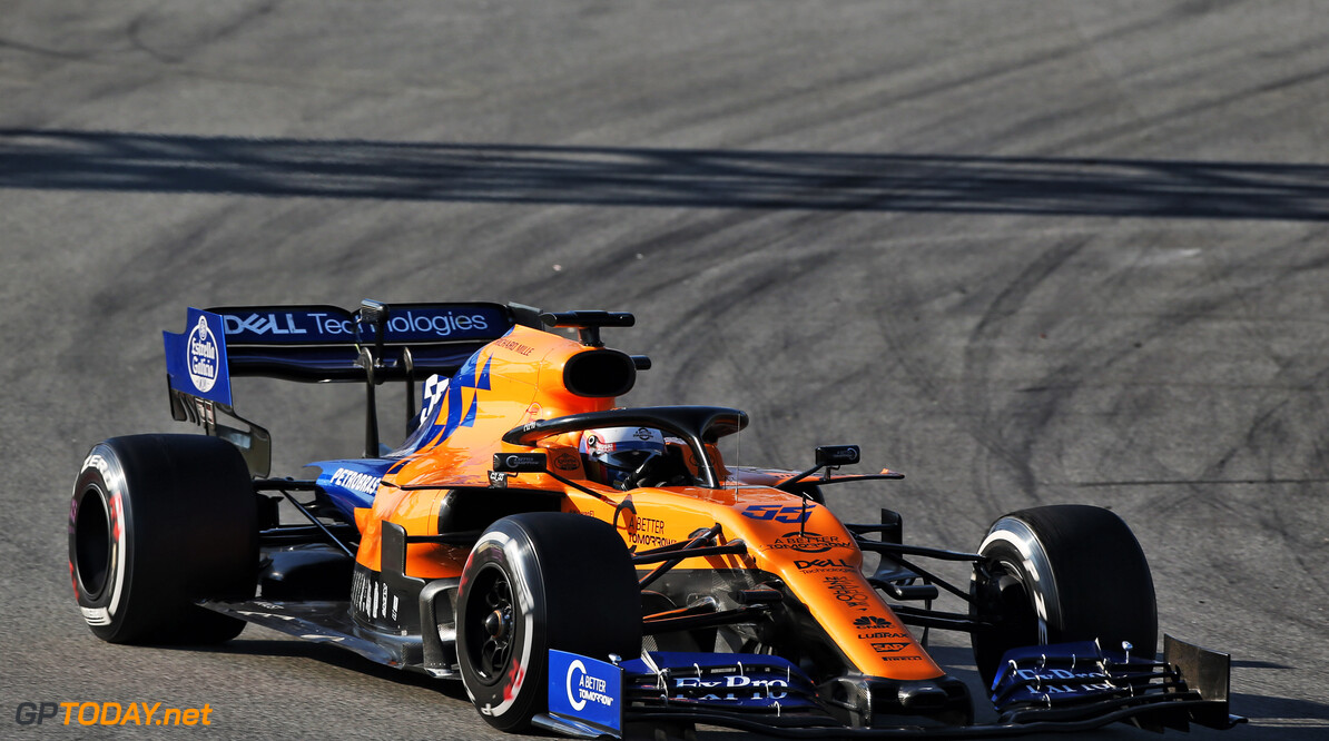 Sainz keeps McLaren on top after day six