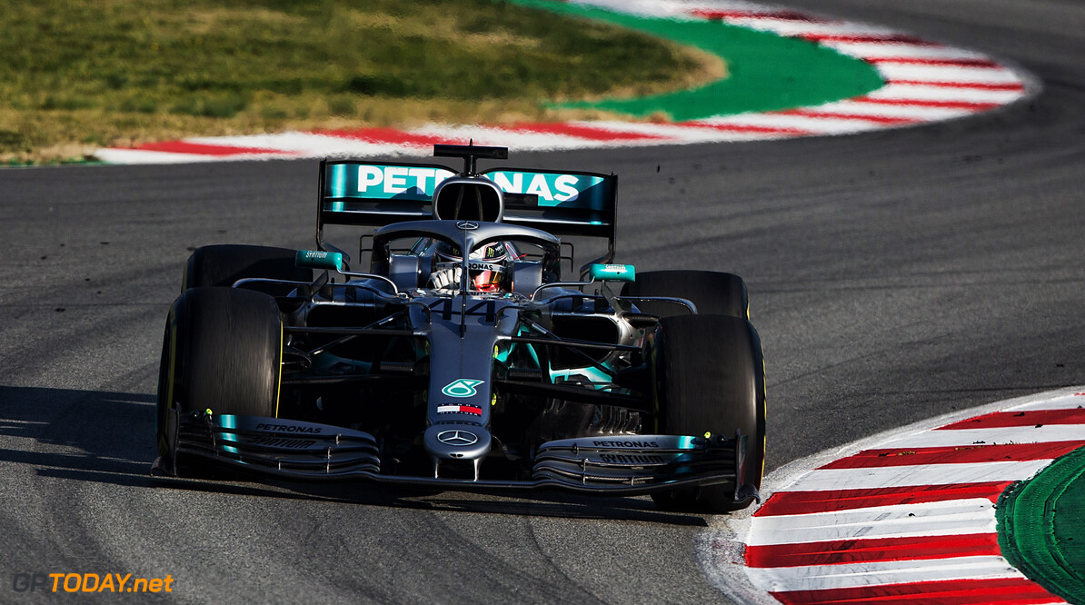 Hamilton hails Mercedes' 'most positive' day of testing