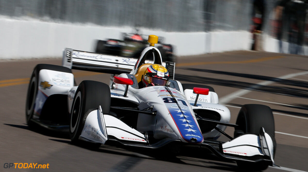 Hanley: Oval driving 'like nothing else'