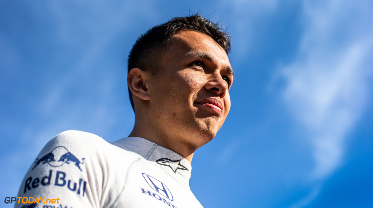 Albon vows to keep his feet on the ground during Red Bull debut