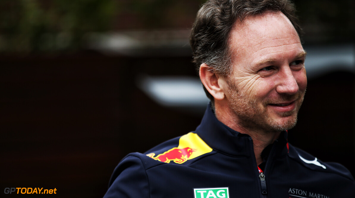 Horner plays down Red Bull's title chances