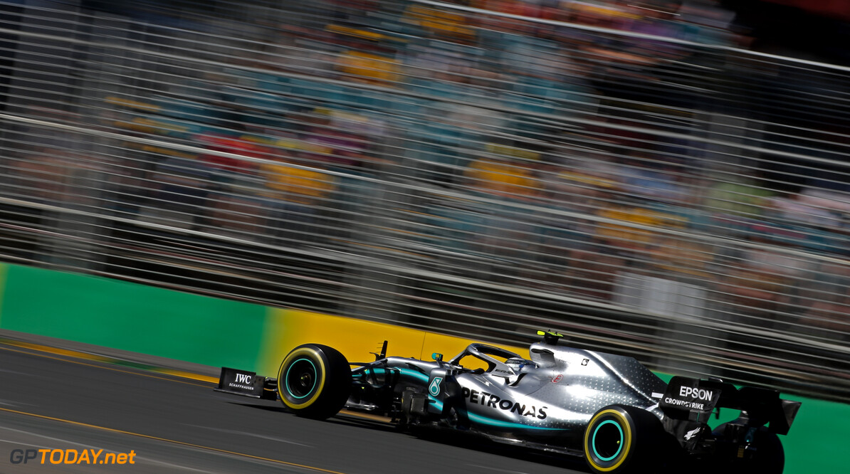 Valtteri Bottas (FIN), Mercedes AMG F1  15.03.2019. Formula 1 World Championship, Rd 1, Australian Grand Prix, Albert Park, Melbourne, Australia, Practice Day. - www.xpbimages.com, EMail: requests@xpbimages.com - copy of publication required for printed pictures. Every used picture is fee-liable. (C) Copyright: Charniaux / XPB Images Motor Racing - Formula One World Championship - Australian Grand Prix - Practice Day - Melbourne, Australia     Formel1 Formel F1 Formula 1 Formula1 GP Grand Prix one March Australian Australia Albert Park Melbourne Oz Friday 15 03 3 2019 Action Track