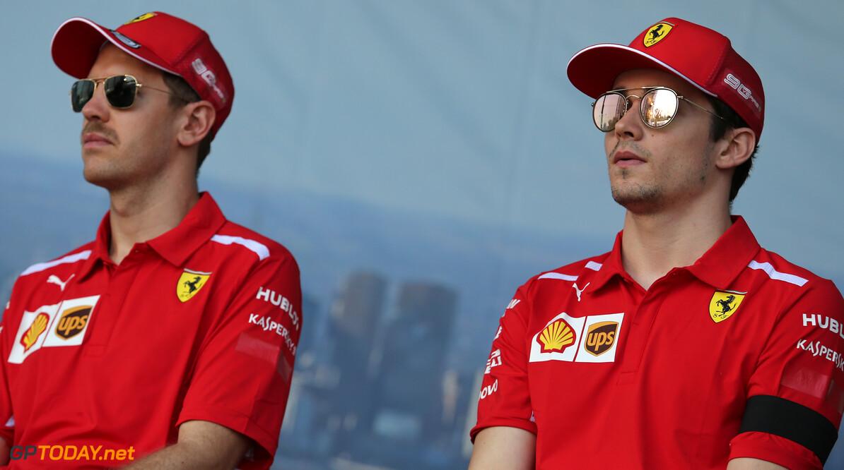 Ferrari pleased with 'team player' Leclerc