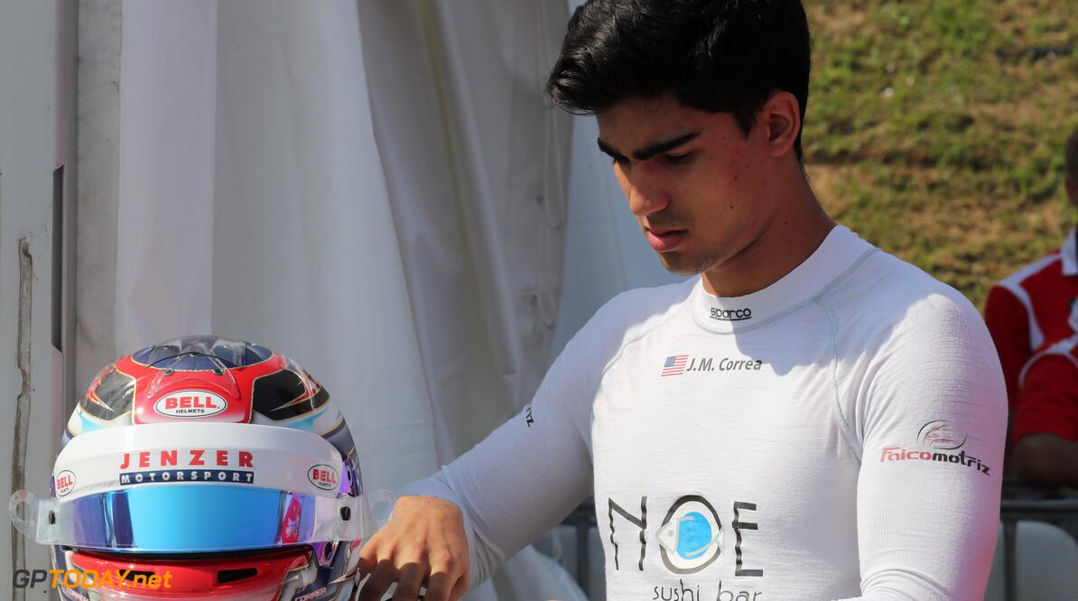 Juan Manuel Correa ontwikkelingscoureur bij Alfa Romeo