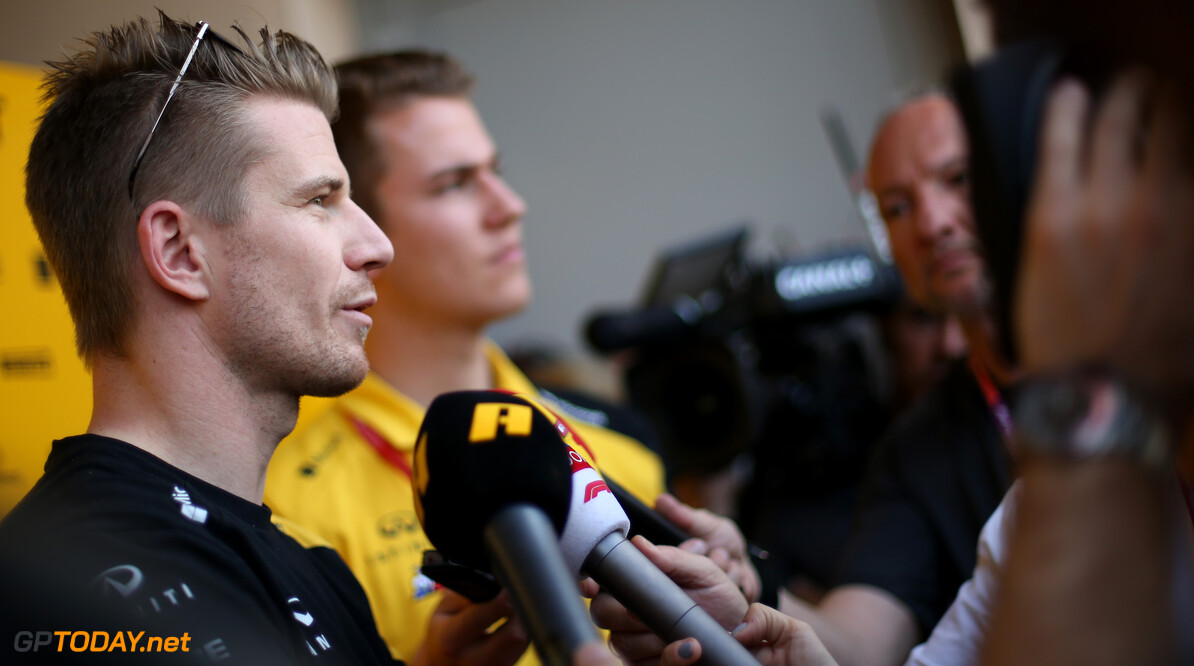 Formula One World Championship Nico Hulkenberg (GER), Renault Sport F1 Team  28.03.2019. Formula 1 World Championship, Rd 2, Bahrain Grand Prix, Sakhir, Bahrain, Preparation Day. - www.xpbimages.com, EMail: requests@xpbimages.com - copy of publication required for printed pictures. Every used picture is fee-liable. (C) Copyright: Charniaux / XPB Images Motor Racing - Formula One World Championship - Bahrain Grand Prix - Preparation Day - Sakhir, Bahrain xpbimages.com Sakhir Bahrain  Formel1 Formel F1 Formula 1 Formula1 GP Grand Prix one Thursday Bahrain International Circuit BIC Manama Bahrain Sakhir Portrait March 28 03 3 2019