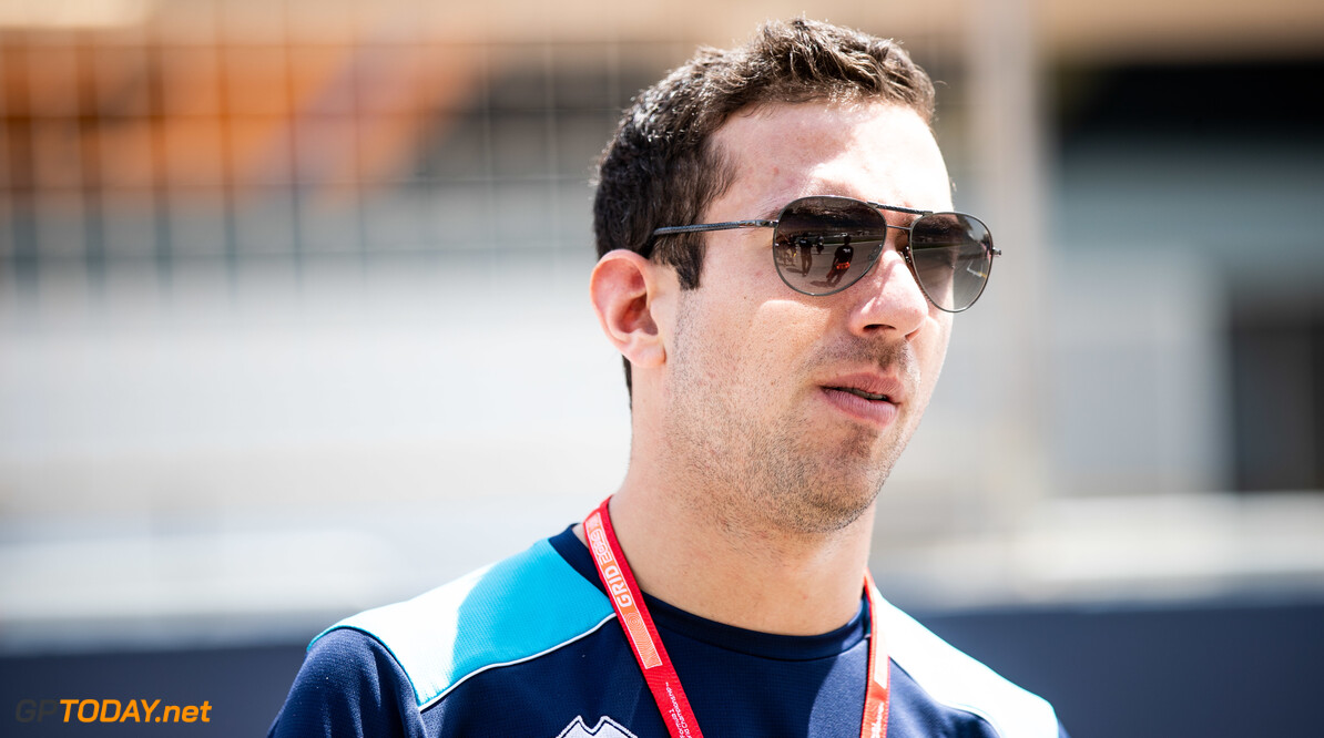 2019 Bahrain BAHRAIN INTERNATIONAL CIRCUIT, BAHRAIN - MARCH 28: Nicholas Latifi (CAN, DAMS) during the Bahrain at Bahrain International Circuit on March 28, 2019 in Bahrain International Circuit, Bahrain. (Photo by Joe Portlock) 2019 Bahrain Joe Portlock  Bahrain  Portrait Preview