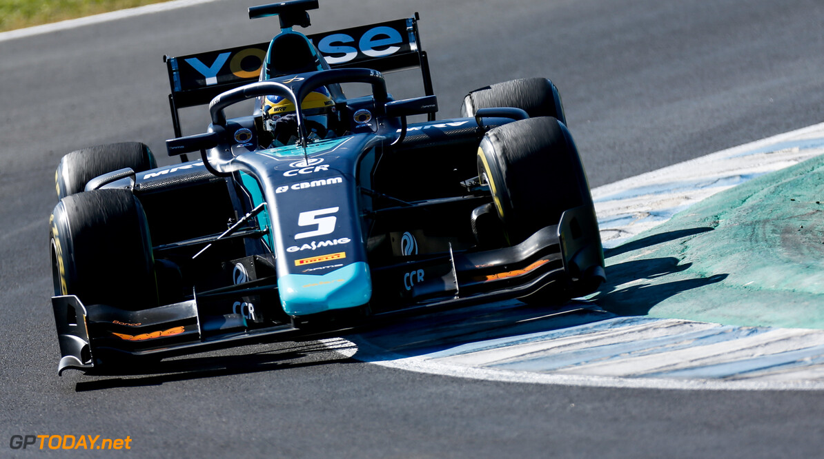 2019 Jerez February testing CIRCUITO DE JEREZ, SPAIN - FEBRUARY 26: Sergio Sette Camara (BRA, DAMS) during the Jerez February testing at Circuito de Jerez on February 26, 2019 in Circuito de Jerez, Spain. (Photo by Joe Portlock / LAT Images / FIA F2 Championship) 2019 Jerez February testing Joe Portlock  Spain  Action