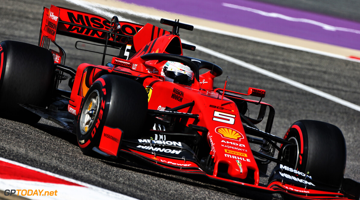 <strong>FP2</strong>: Vettel keeps Ferrari clear of Mercedes