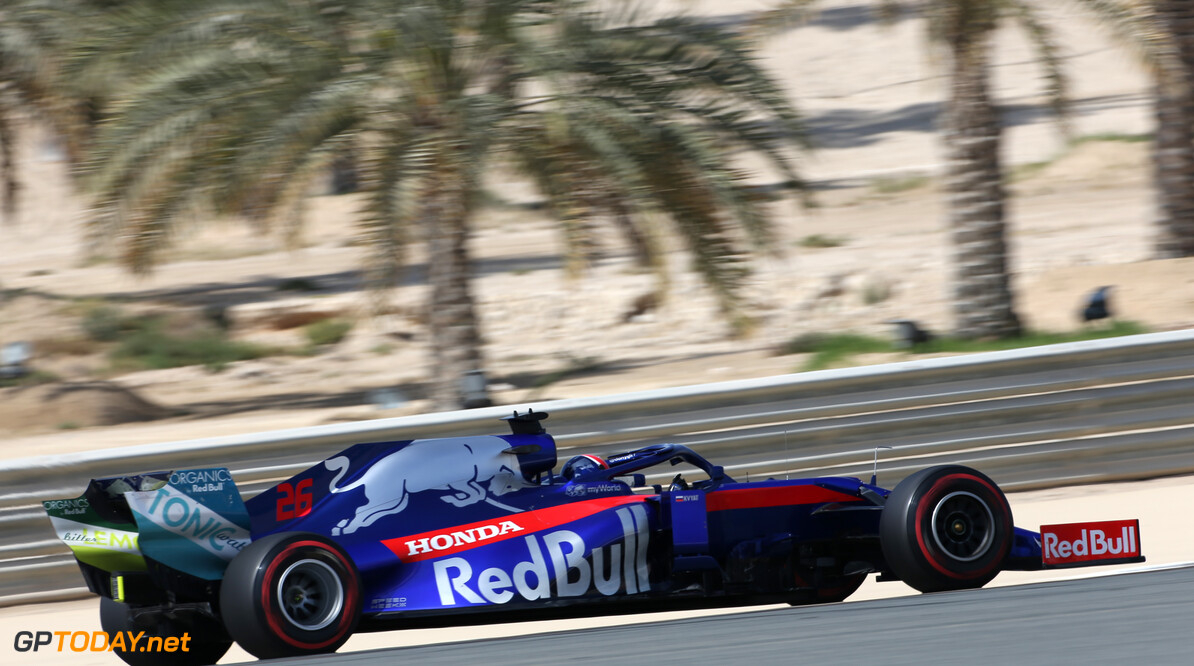 Daniil Kvyat (RUS), Scuderia Toro Rosso  29.03.2019. Formula 1 World Championship, Rd 2, Bahrain Grand Prix, Sakhir, Bahrain, Practice Day - www.xpbimages.com, EMail: requests@xpbimages.com - copy of publication required for printed pictures. Every used picture is fee-liable. (C) Copyright: Charniaux / XPB Images Motor Racing - Formula One World Championship - Bahrain Grand Prix - Practice Day - Sakhir, Bahrain     Formel1 Formel F1 Formula 1 Formula1 GP Grand Prix one Bahrain International Circuit BIC Manama Bahrain Sakhir Friday March Action track 29 03 3 2019