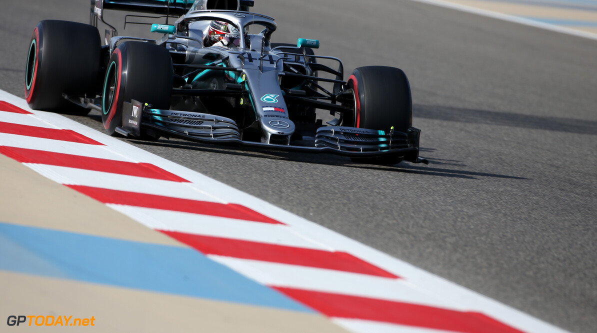Lewis Hamilton (GBR), Mercedes AMG F1   29.03.2019. Formula 1 World Championship, Rd 2, Bahrain Grand Prix, Sakhir, Bahrain, Practice Day - www.xpbimages.com, EMail: requests@xpbimages.com - copy of publication required for printed pictures. Every used picture is fee-liable. (C) Copyright: Charniaux / XPB Images Motor Racing - Formula One World Championship - Bahrain Grand Prix - Practice Day - Sakhir, Bahrain     Formel1 Formel F1 Formula 1 Formula1 GP Grand Prix one Bahrain International Circuit BIC Manama Bahrain Sakhir Friday March Action track 29 03 3 2019