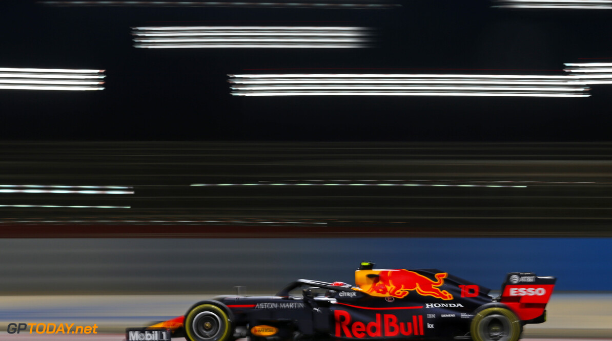 Pierre Gasly (FRA), Red Bull Racing  29.03.2019. Formula 1 World Championship, Rd 2, Bahrain Grand Prix, Sakhir, Bahrain, Practice Day - www.xpbimages.com, EMail: requests@xpbimages.com - copy of publication required for printed pictures. Every used picture is fee-liable. (C) Copyright: Charniaux / XPB Images Motor Racing - Formula One World Championship - Bahrain Grand Prix - Practice Day - Sakhir, Bahrain     Formel1 Formel F1 Formula 1 Formula1 GP Grand Prix one Bahrain International Circuit BIC Manama Bahrain Sakhir Friday March Action track 29 03 3 2019