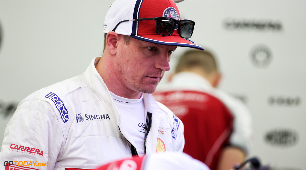 Raikkonen not concerned over lack of Friday running