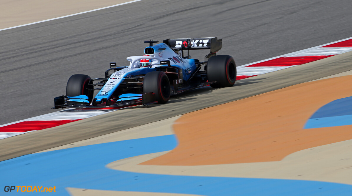 Formula One World Championship George Russell (GBR), Williams F1 Team  30.03.2019. Formula 1 World Championship, Rd 2, Bahrain Grand Prix, Sakhir, Bahrain, Qualifying Day. - www.xpbimages.com, EMail: requests@xpbimages.com - copy of publication required for printed pictures. Every used picture is fee-liable. (C) Copyright: Charniaux / XPB Images Motor Racing - Formula One World Championship - Bahrain Grand Prix - Qualifying Day - Sakhir, Bahrain xpbimages.com Sakhir Bahrain  Formel1 Formel F1 Formula 1 Formula1 GP Grand Prix one Bahrain International Circuit BIC Manama Bahrain Sakhir Saturday March 30 03 3 2019 Practice Action Track