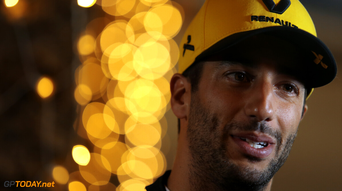 Formula One World Championship Daniel Ricciardo (AUS), Renault F1 Team  30.03.2019. Formula 1 World Championship, Rd 2, Bahrain Grand Prix, Sakhir, Bahrain, Qualifying Day. - www.xpbimages.com, EMail: requests@xpbimages.com - copy of publication required for printed pictures. Every used picture is fee-liable. (C) Copyright: Charniaux / XPB Images Motor Racing - Formula One World Championship - Bahrain Grand Prix - Qualifying Day - Sakhir, Bahrain xpbimages.com Sakhir Bahrain  Formel1 Formel F1 Formula 1 Formula1 GP Grand Prix one Bahrain International Circuit BIC Manama Bahrain Sakhir Saturday March 30 03 3 2019 Qualifying Portrait