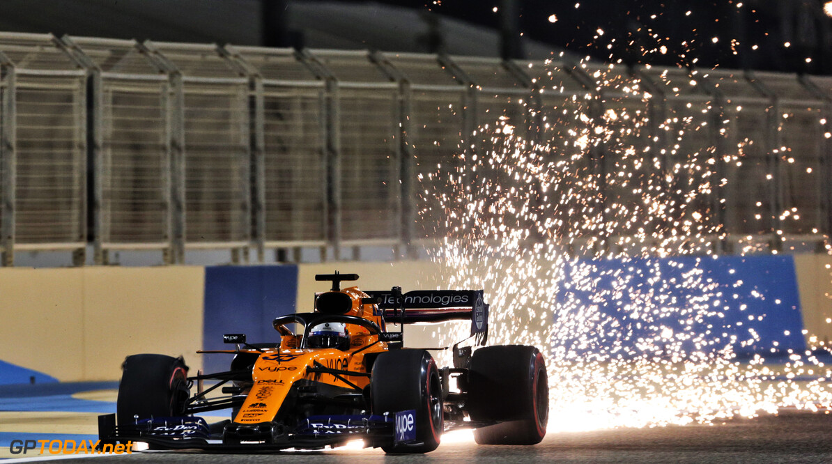 Sainz 'won't complain' after Verstappen crash