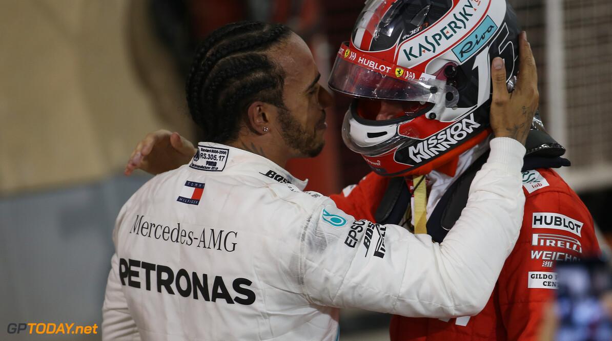 Hamilton: Passing Leclerc for the lead felt 'weird'