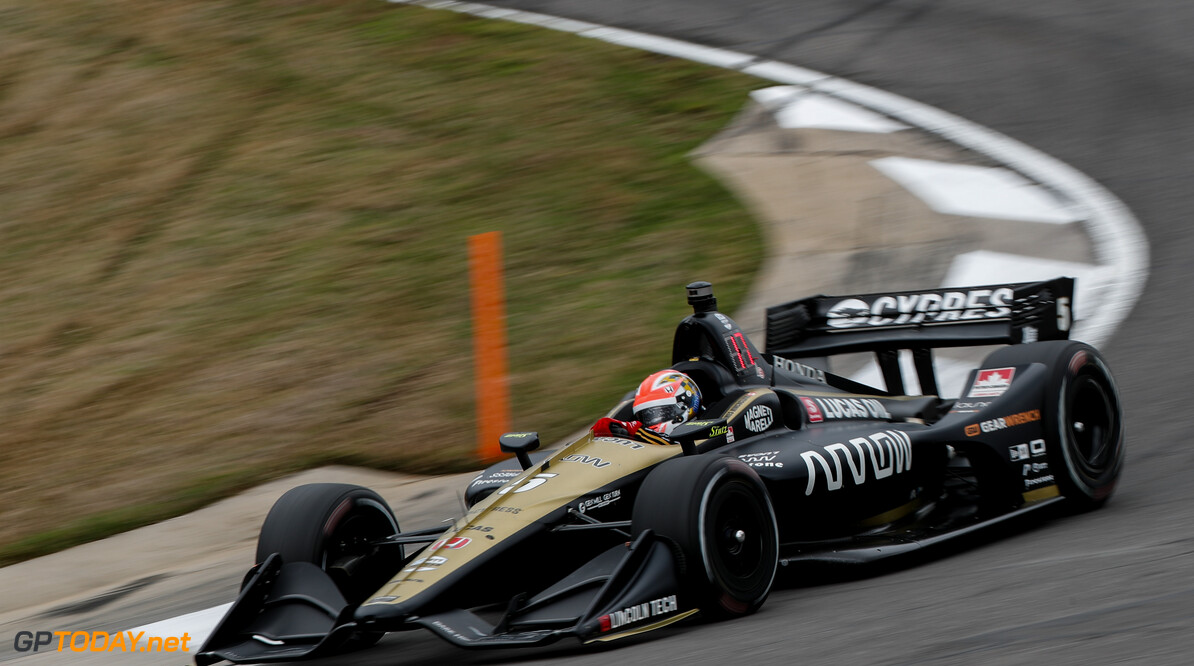 Hinchcliffe fastest after Friday running at Barber