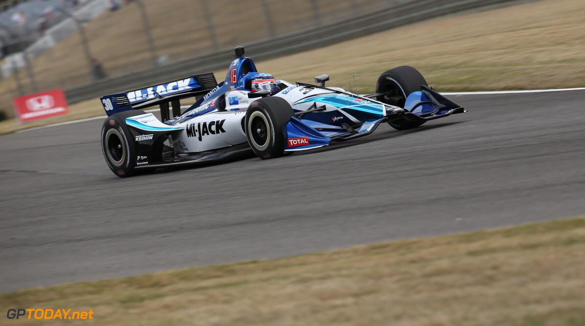 Takuma Sato op pole voor Barber Grand Prix