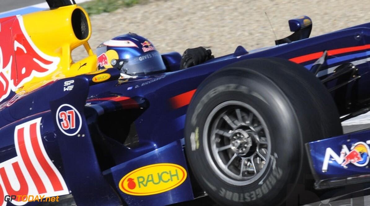 Daniel Ricciardo aast op rol van testrijder bij Red Bull Racing