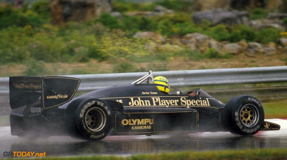<strong>Ayrton Senna Special:</strong>  Part 17 - Ayrton with Lotus - Masterclass in Estoril (1985)