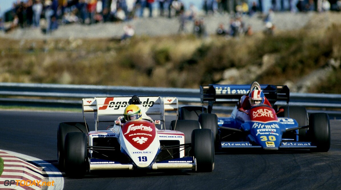 <b>Ayrton Senna Special</b>: De auto 1 - Toleman TG183 Hart (1983-1984)