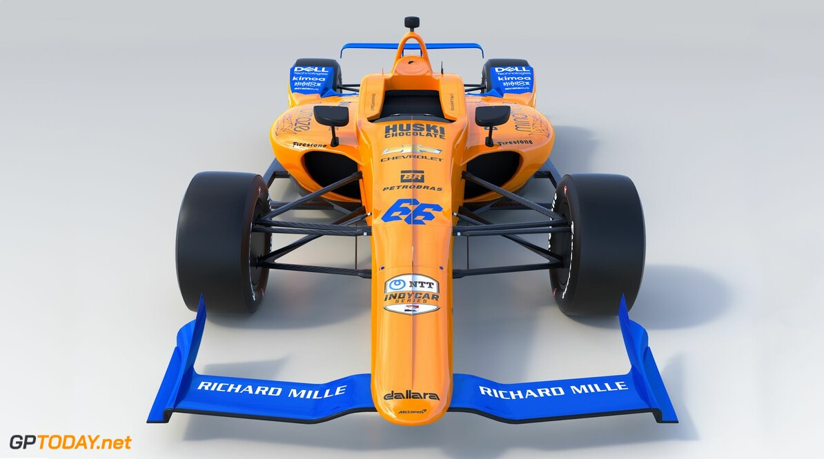 McLaren launches Fernando Alonso's Indy 500 livery